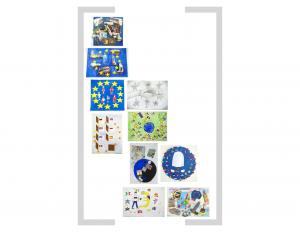 10. Bildtafel: Sterne - Version 01