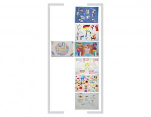 11. Bildtafel: Flaggen und Essen - Version 02