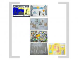13. Bildtafel - Sehenswürdigkeiten und Gebäude