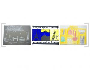 13. Bildtafel: Sehenswürdigkeiten und Gebäude - Version 02