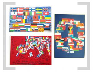 14. Bildtafel: Flaggen