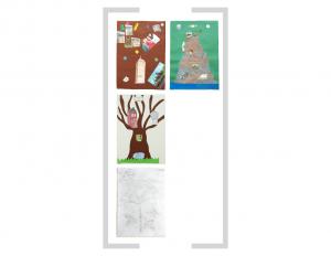 21. Bildtafel: Baum und Berg - 1. Version