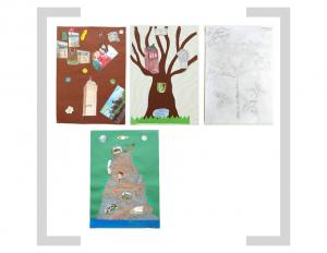 21. Bildtafel: Baum und Berg - 2. Version