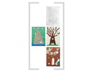 21. Bildtafel: Baum und Berg - 3. Version
