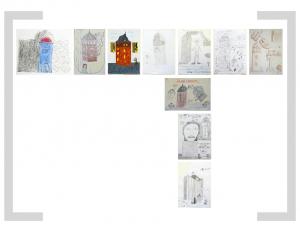 23. Bildtafel: Ich und Roter Turm - 2. Version